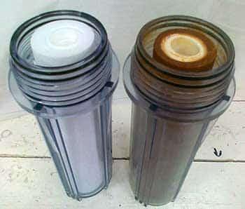 Filter na vodu nový a použitý