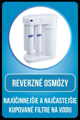 Reverzná osmóza - Najúčinnejší a najčastejšie kupovaný filter na vodu