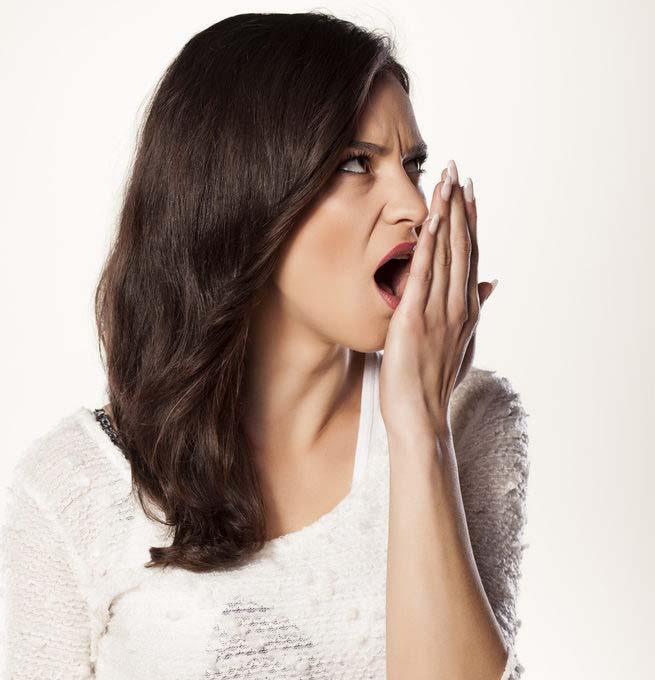 Odstránenie zápachu z úst ozónovým generátorom