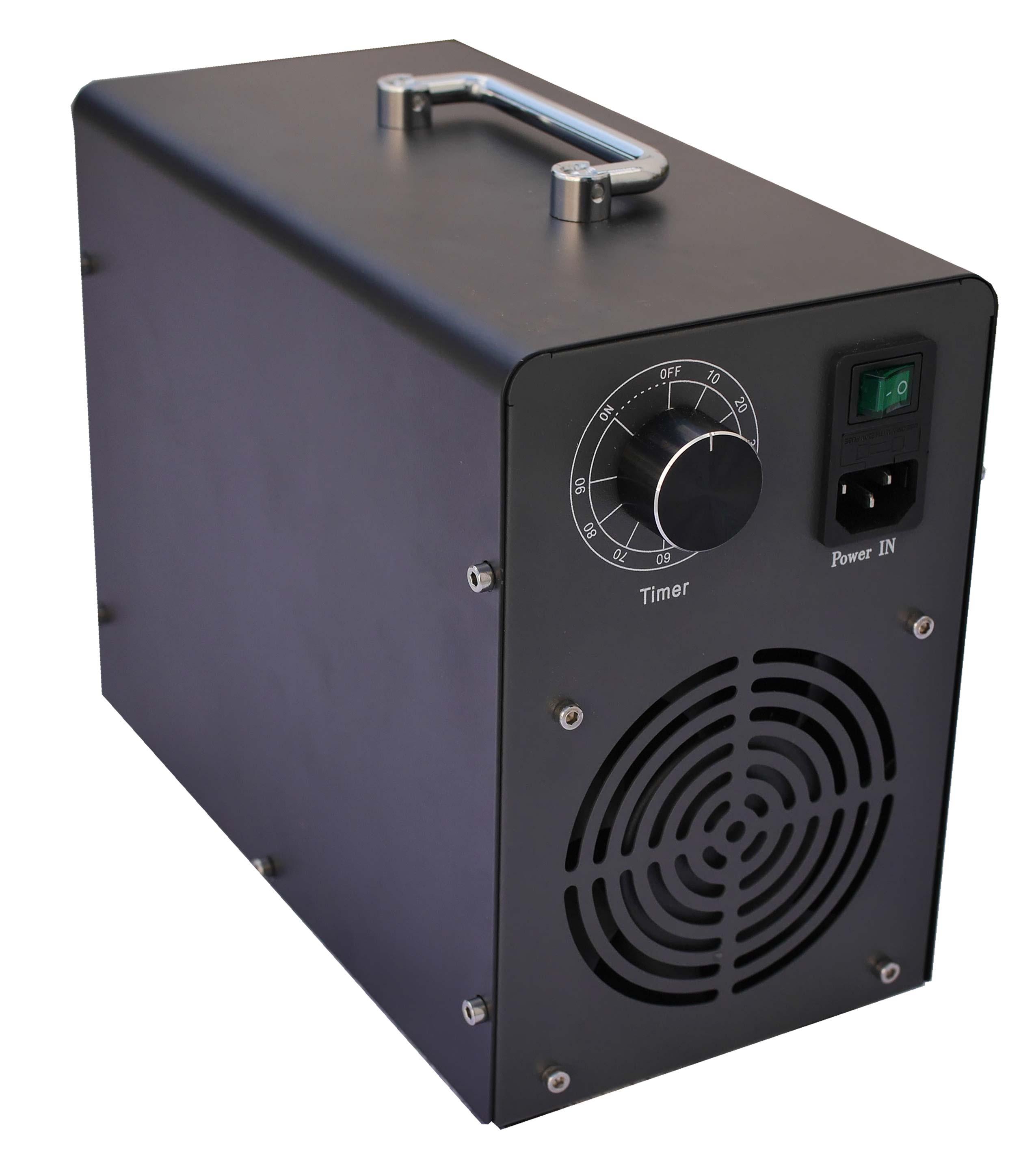 Kvalitný ozónový generátor testovaný elektrikárom proti skratovosti