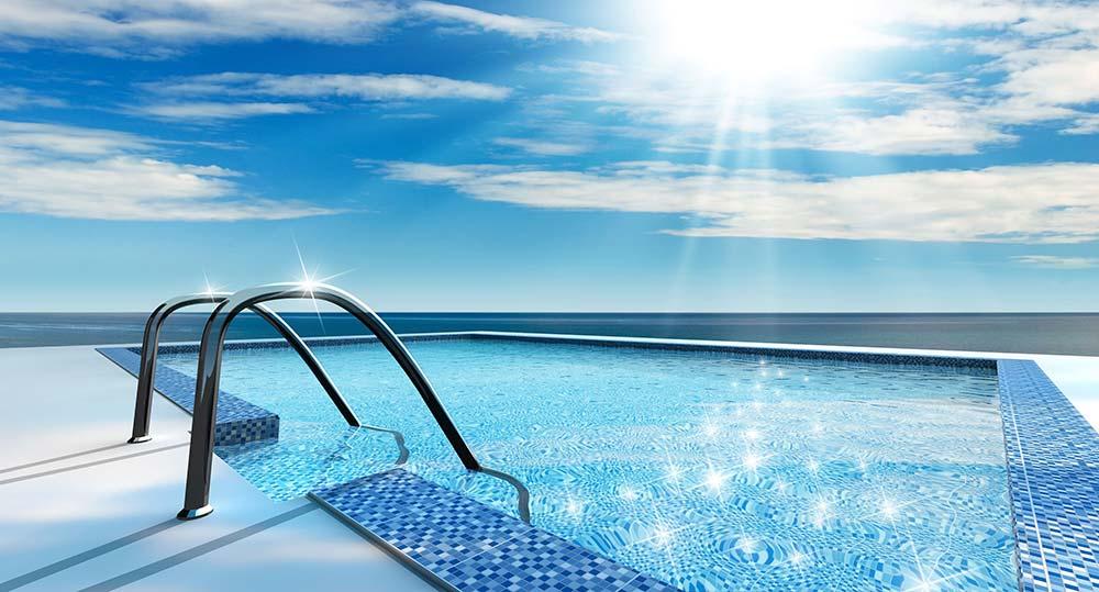 Zmäkčovač a prejasňovač vody v bazénoch, vírivkách, akváriách
