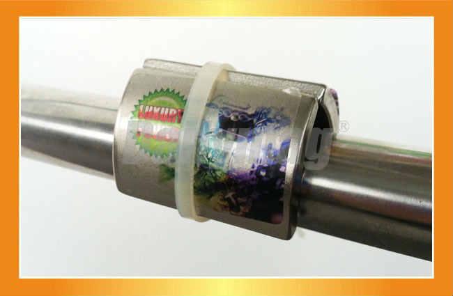 Jednoduchá inštalácia za 5 minút - stačí nasadiť na potrubie a upevniť dodanou páskou